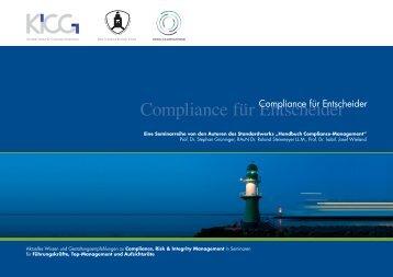 Compliance für Entscheider - bei der Lake Constance Business ...