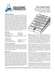 Poly-I-Gard® 246 OF - Polycoat Products