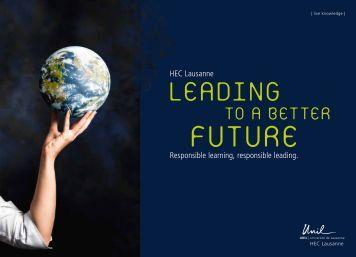 Brochure - Sauder School of Business - University of British Columbia