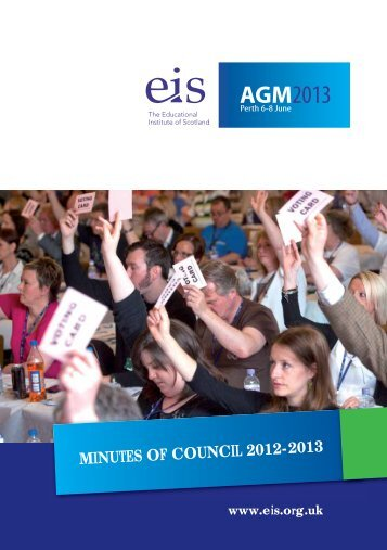 Minutes of Council - EIS