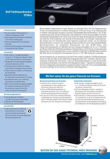 Dell Farblaserdrucker 3110cn