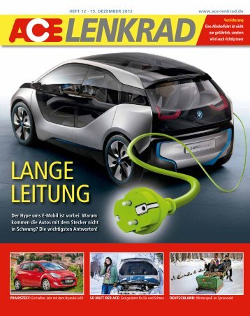 Status Quo Elektromobilität ACE LENKRAD 12/2012