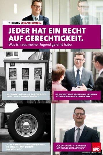 Programm-Plakat - SPD Hessen
