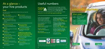 Your guide to a smooth journey.pdf - Europcar UK Car Hire Services ...