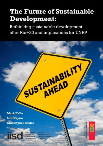 The Future of Sustainable Development - India Environment Portal