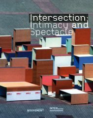 Intersection: Intimacy and spectacle - Prague Quadrennial