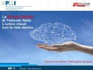 Sulla Nuvola Italiana il PMO nell'era del cloud - PMI-NIC