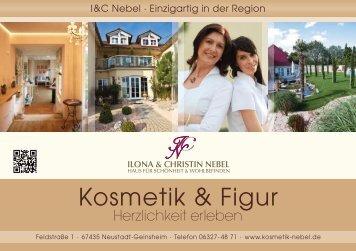 Preise Kosmetik und Figur - Kosmetikinstitut Ilona Nebel