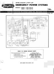 3w056 & 3w057 parts list and wiring diagram - winco generators