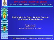 Risk Models for Safety in Road Tunnels: a European State-of-the-Art ...
