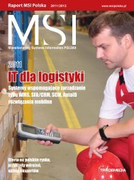 Pobierz raport w pliku PDF - MSI Polska