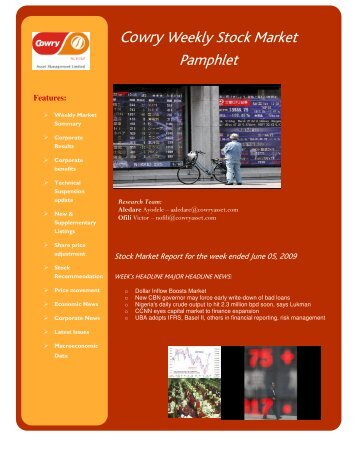 Download PDF Report - Cowry