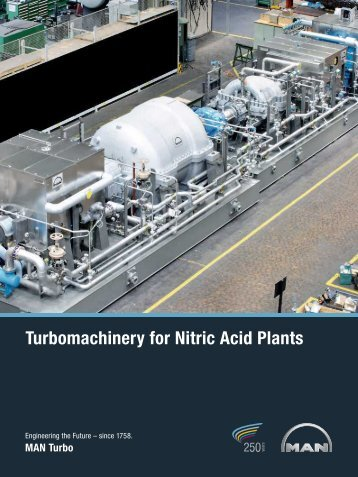 Turbomachinery for Nitric Acid Plants - MAN Diesel & Turbo