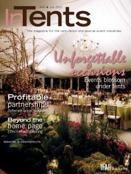 InTents, June/July 2007, Digital Edition - Specialty Fabrics Review