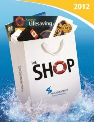 THE SHOP 2012 - Lifesaving Society