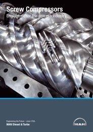 Screw Compressors - MAN Diesel & Turbo
