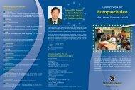 Pädagogisches Leitbild der Europaschulen - Kultusministerium
