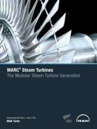 MARC Steam Turbines The Modular Steam Turbine Generation