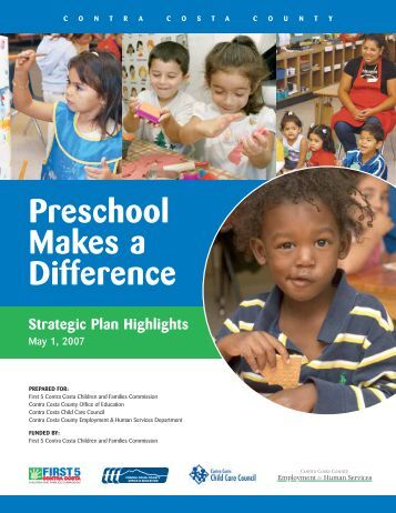Preschool Makes a Difference - Plan4Preschool