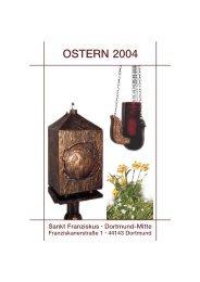 OSTERN 2004 - St. Franziskus Kirche