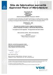Certificat d´origine européenne