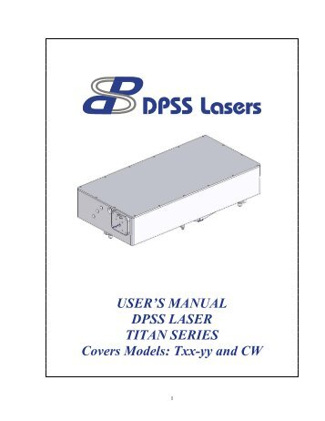 LightVision DPSS Green Laser Pointer Modifications For