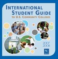 internationalstudentguide - American Association of Community ...