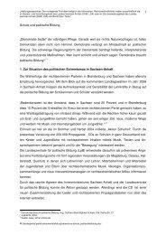 Schule und politische Bildung - Kultusministerium Sachsen-Anhalt