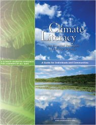 The Essential Principles of Climate Sciences - US Climate Change ...