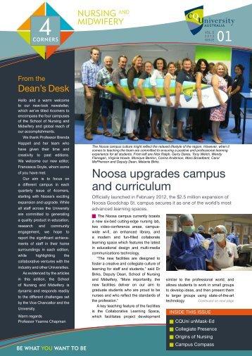 4 Corners Newsletter - Vol 1 - Central Queensland University