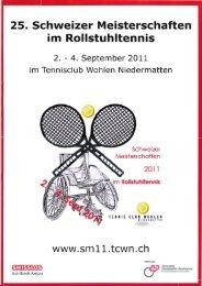 25. Schweizer Meisterschaft Wohlen 2011: Resultate - RTCA