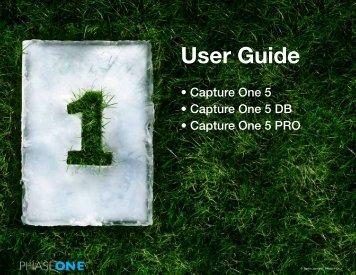 capture one 5 manual - Snap Studios