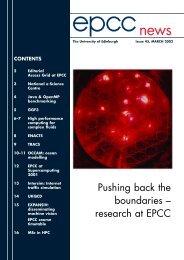 Issue 45 - EPCC - University of Edinburgh
