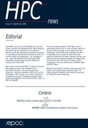 HPC News autumn 2000 - EPCC