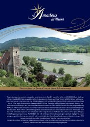 River cruises on Europe's most beautiful waterways - Classic Voyages