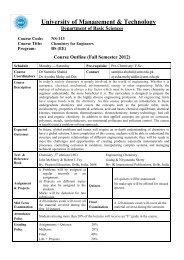 Outline - UMT Admin Panel
