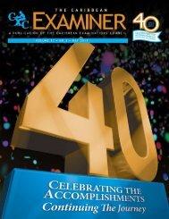 The Caribbean Examiner • Vol 11 • No 1 • June 2013