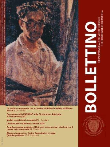 Luglio - Agosto 2009 (pdf - 2 MB) - Ordine Provinciale dei Medici ...
