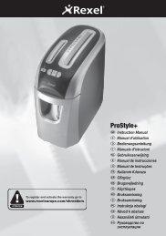 1020 ProStyle+ Shredder Manual.indd - Net