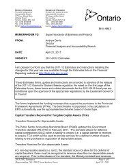 2011-2012 Estimates - Financial Analysis and Accountability Branch ...