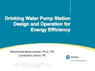 Efficient Water Station Design - the Hydraulic Institute