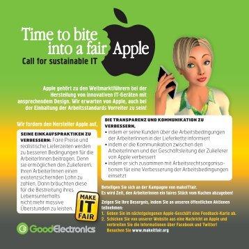 Apple gehört zu den Weltmarktführern bei der ... - makeITfair