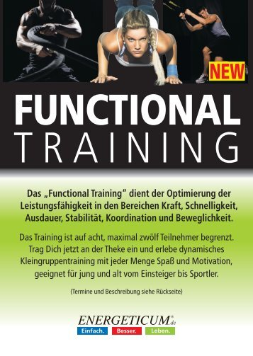 Trainingszeiten Functional Training