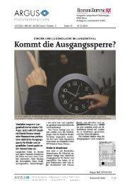Berner Zeitung, 16.12.09 - Daniel Steiner-Brütsch