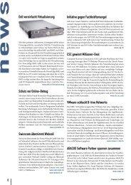 Dell vereinfacht Virtualisierung Schutz vor Online ... - IT business