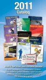 Middle & High School, Adult/Alternative ... - Walch Education