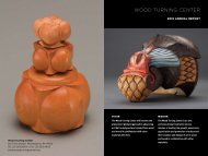 Download Annual Report - The Center for Art In Wood