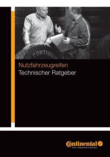 Technischen Ratgeber für Nutzfahrzeug-Reifen 2013 - Continental