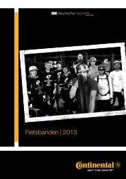 Fietsbanden | 2013 - Continental
