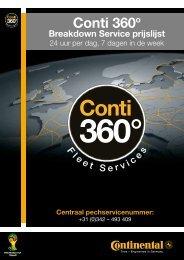 Euroservice prijslijst 2011 downloaden - Continental